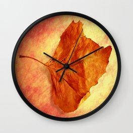 Autumn Cometh Wall Clock