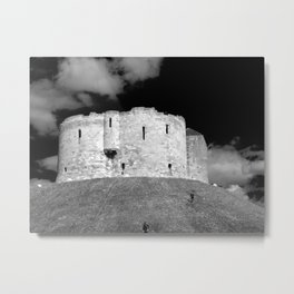 Cliffords Tower York Metal Print