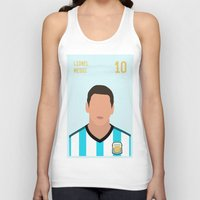 messi Tank Tops featuring MESSI by Anthony Morell