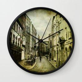 Dublin Street Wall Clock