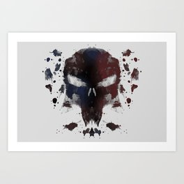 Ink Devil Art Print