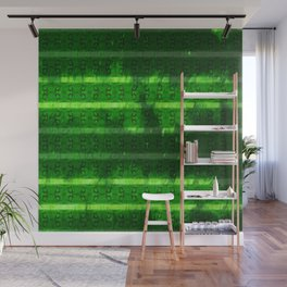 Metal Watermelon Rind Wall Mural