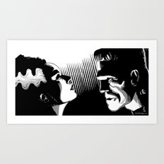 Frankie and the Bride Art Print