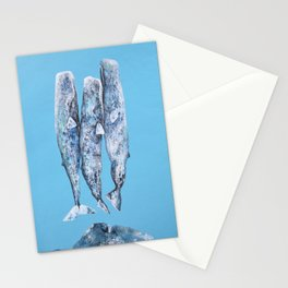 Sleeping Whales Stationery Cards
