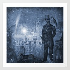 One Starry Night Art Print
