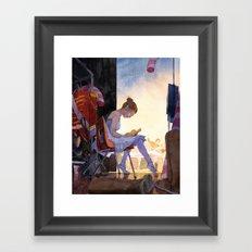 The Understudy Framed Art Print