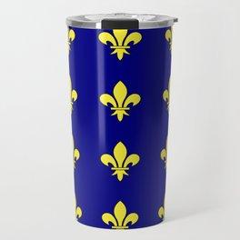 Fleur de lys 1-lis,lily,monarchy,king,queen,monarquia. Travel Mug