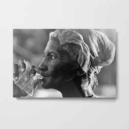 Water Woman Metal Print