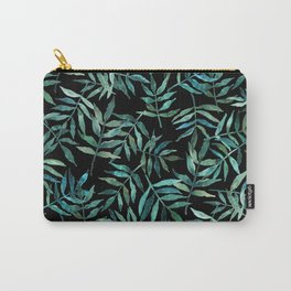 Wisteria Leaves Carry-All Pouch
