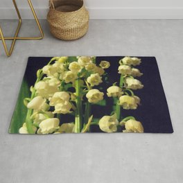 lilly of the valley 4 Rug