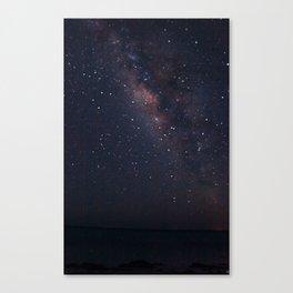 Milky Waaaaaayyyyy Canvas Print