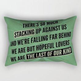 We are but hopeful lovers Rectangular Pillow