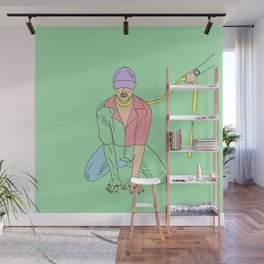 you idiot Wall Mural