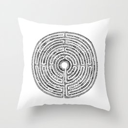 Chartres Garden Throw Pillow