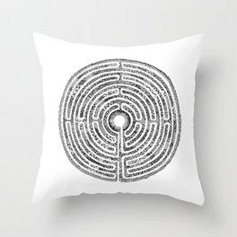 Chartres Garden Throw Pillow
