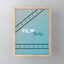 Film Strip Framed Mini Art Print