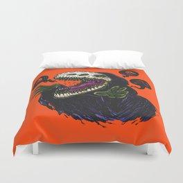 Grim Reapersaur Duvet Cover