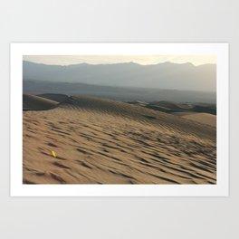 Death Valley   Desert Landscape  Art Print
