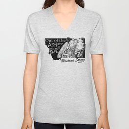 Out of the Ashes Unisex V-Neck