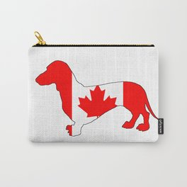 Canada Dachshund Carry-All Pouch