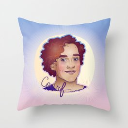 Courfeyrac Throw Pillow