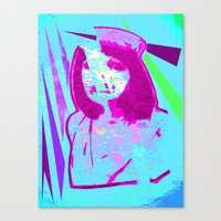 nurse Canvas Prints featuring Nurse by Fire Child