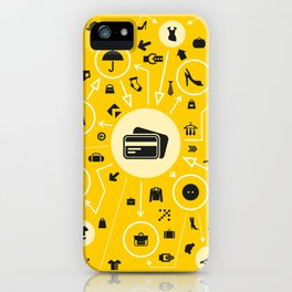 Clothes the scheme iPhone Case