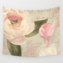 Perfume and Roses II Wall Tapestry