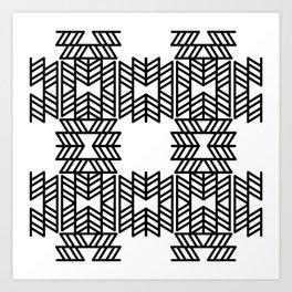 Z Pattern Art Print