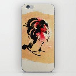 Spring Geisha iPhone Skin