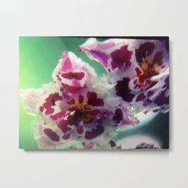 Flower   Fleur Metal Print