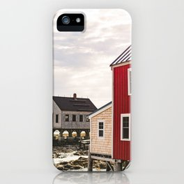 Coastal Maine Mornings I iPhone Case