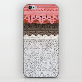Pink Al Balad Coral House iPhone Skin