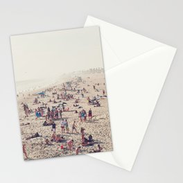 The Huntington Beach Crowd Stationery Cards
