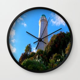 Cap Ferrat Lighthouse Wall Clock
