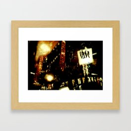 Lost in Some City No. 4 Framed Art Print