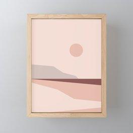 Abstract Landscape 02 Framed Mini Art Print