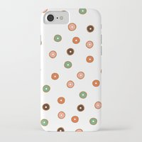 doughnut iPhone & iPod Cases featuring doughnut by THE HOUSE OF FOX