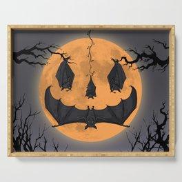 Halloween Moon Serving Tray