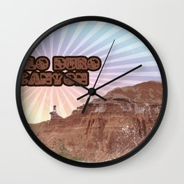 Retro Palo Duro Canyon Wall Clock