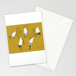 The TeeGees - The Quintet Stationery Cards