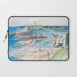 Wollongong Beach Landscape Laptop Sleeve