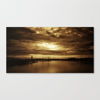 stockholm Canvas Prints featuring Stockholm by Nicklas Gustafsson