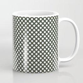 Duffel Bag and White Polka Dots Coffee Mug