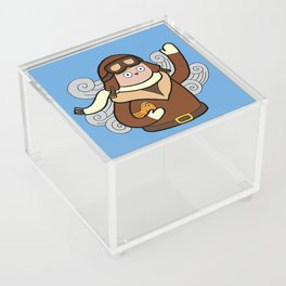 When I grow up I want to be a pilot! Acrylic Box