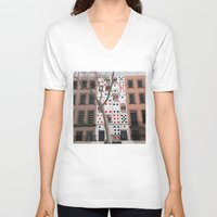 house of cards V-neck T-shirts featuring House of Cards by AdamSteve
