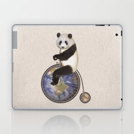 Penny Makes the World Go Around Laptop & iPad Skin