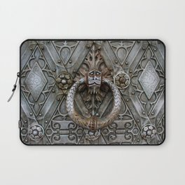 the door keeper Laptop Sleeve