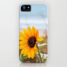 Sunflower near ocean iPhone (5, 5s) Slim Case