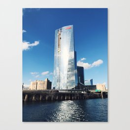 fmc tower, philly Canvas Print